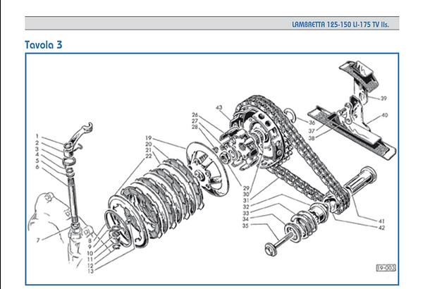 Lambretta series 2 clutch bell