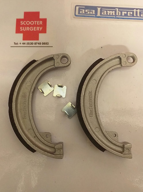 Front brake shoes (pair) D LD