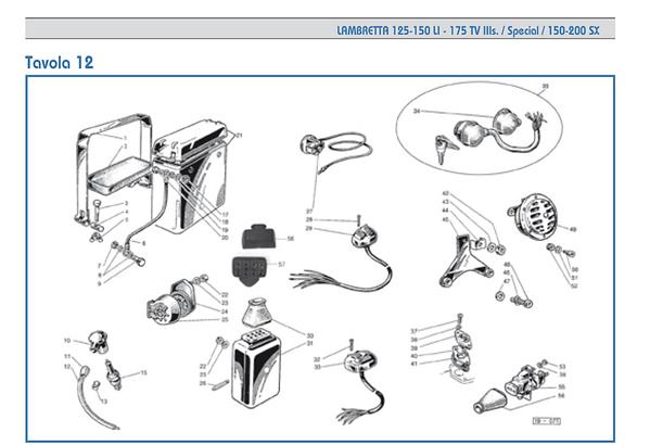 Lambretta series 3 battery