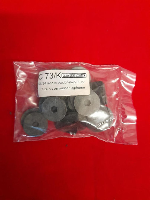 24 rubber washers