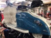 Scooter surgery lambretta restoration