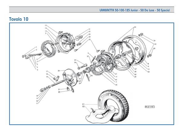 Lambretta 50-100-125 Junior-50 De Luxe-5