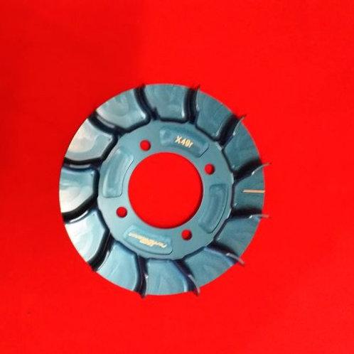 Flywheel fan  airflow