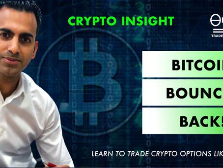 Bitcoin bounces back!