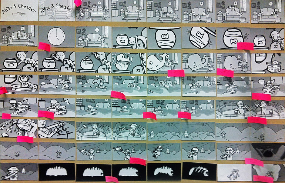 Alfie&Chester StoryBoard