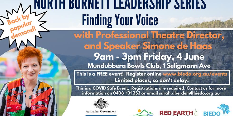 Finding Your Voice - North Burnett Leadership Series Workshop