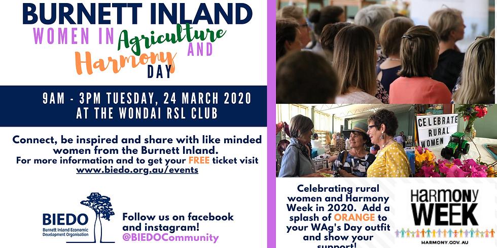 Burnett Inland Women in Ag Day - Wondai