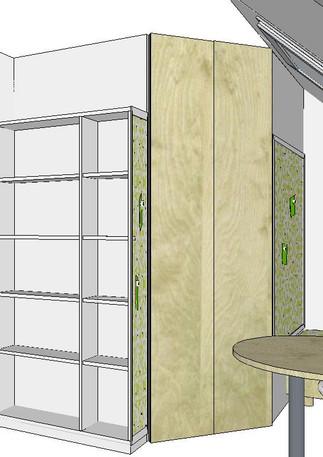 Jugendzimmer Entwurf