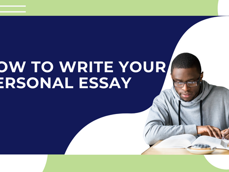 How to Write Your Personal Essay