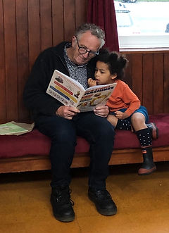 Readers at Featherston Booktown - Photo Credit