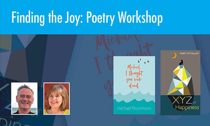 Finding the Joy: Poetry Workshop