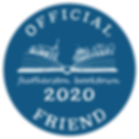 Booktown 2020 - Official Friend Decal.pn