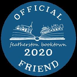 Booktown 2020 - Official Friend Decal.pn
