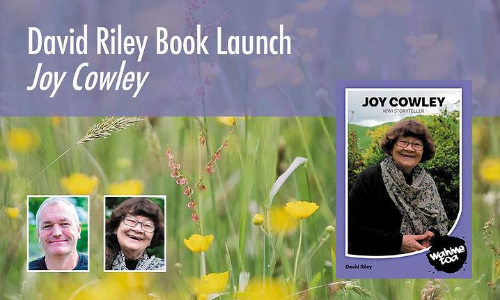 David Riley Book Launch Joy Cowley