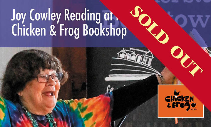 Joy Cowley Reading at the Chicken and Frog Bookshop