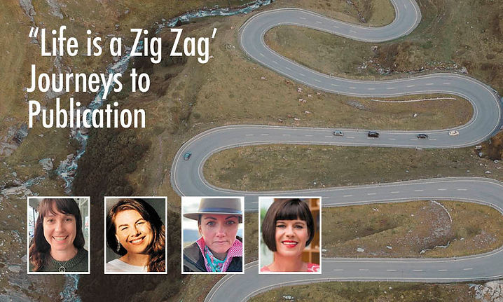 """""""Life is a Zig Zag"""" - Journeys to Publication"""