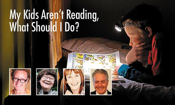 My Kids Aren't Reading, What Should I Do?