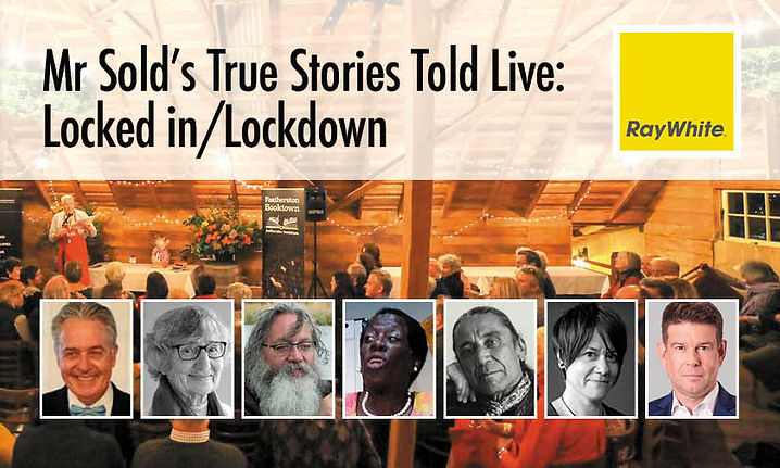 Mr Sold's True Stories Told Live: Locked In/Lockdown