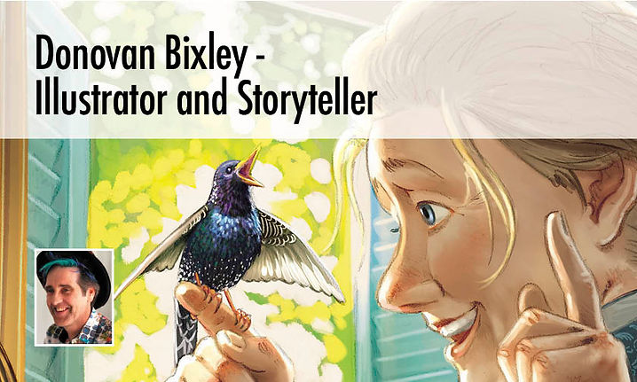 Donovan Bixley - Illustrator and Storyteller