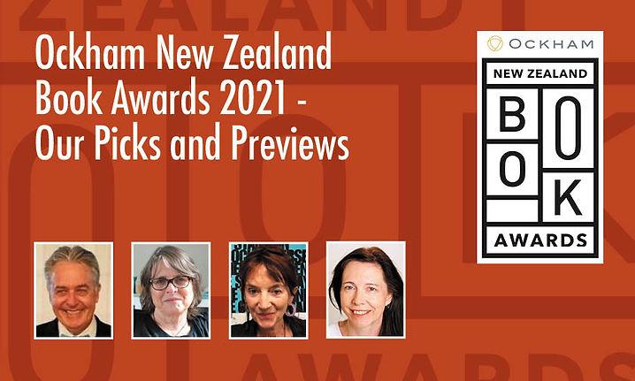 Ockham New Zealand Book Awards 2021 – Our Picks and Previews