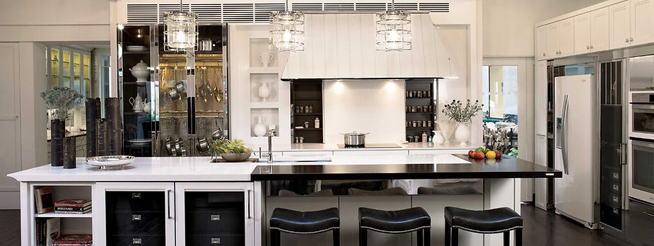 Kitchen with professional Appliance Instllation
