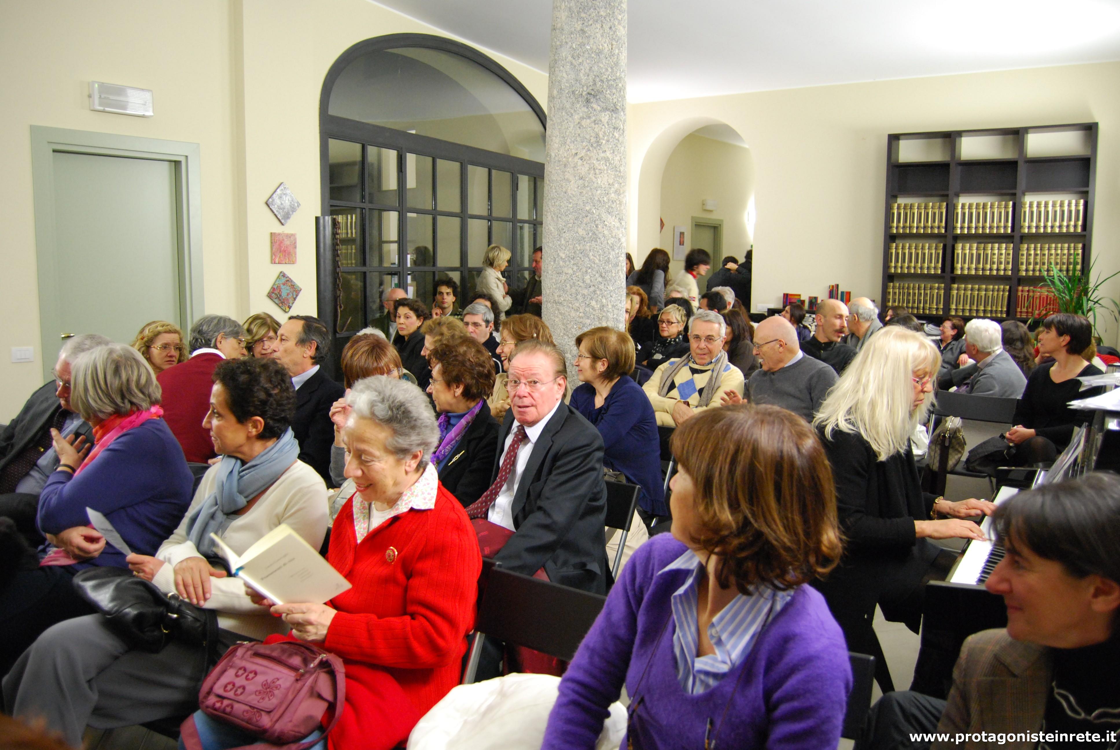 Il pubblico de La Casa della Poesia