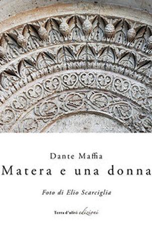 """Copertina della raccolta """"Matera e una donna"""""""