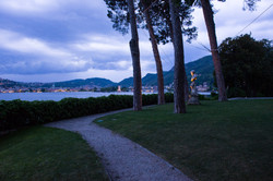 Villa Grumello by night