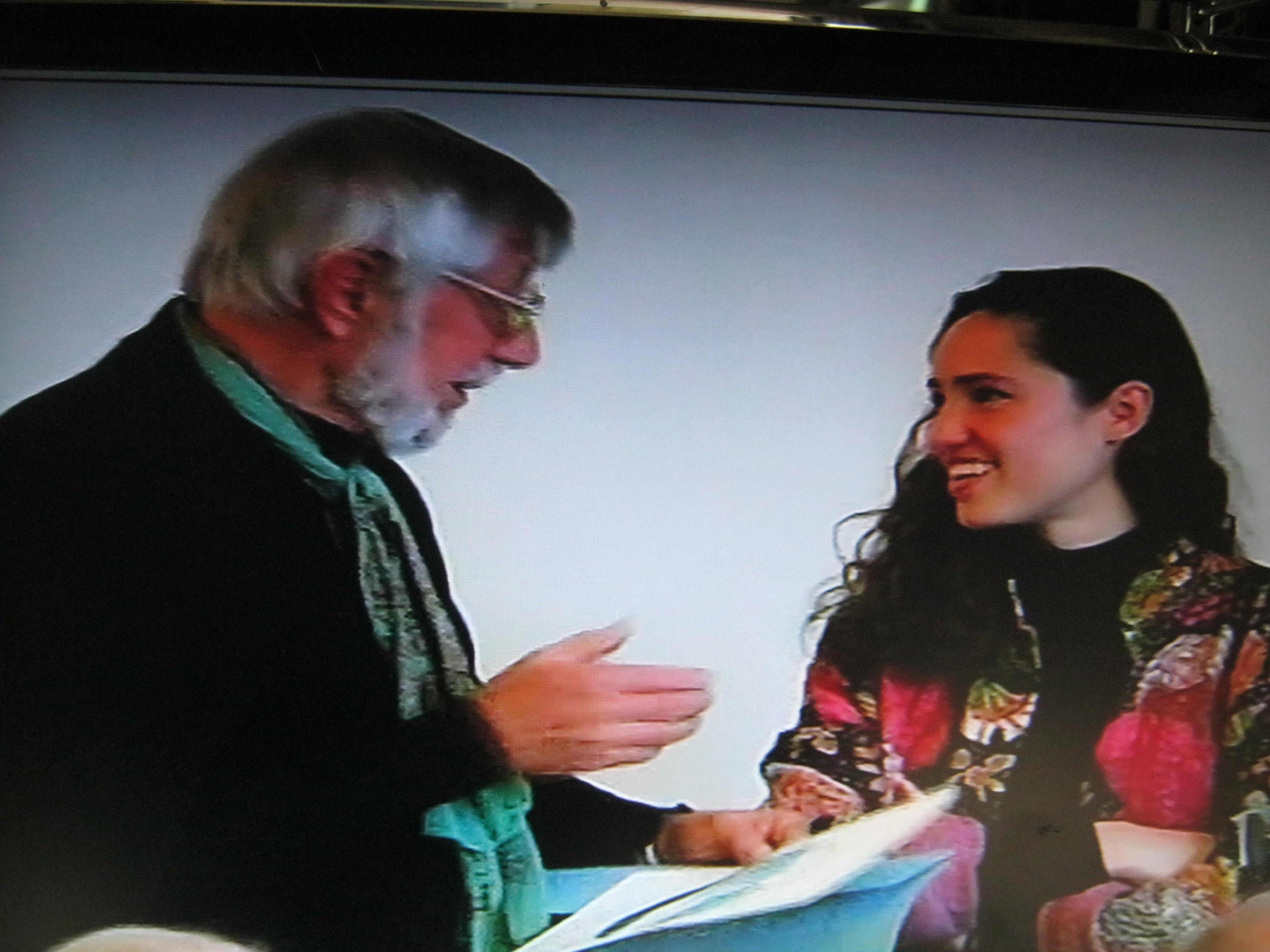 Michael Harlow e Elisa Cartocci