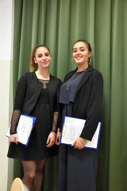 Le giovani presentatrici Enaip