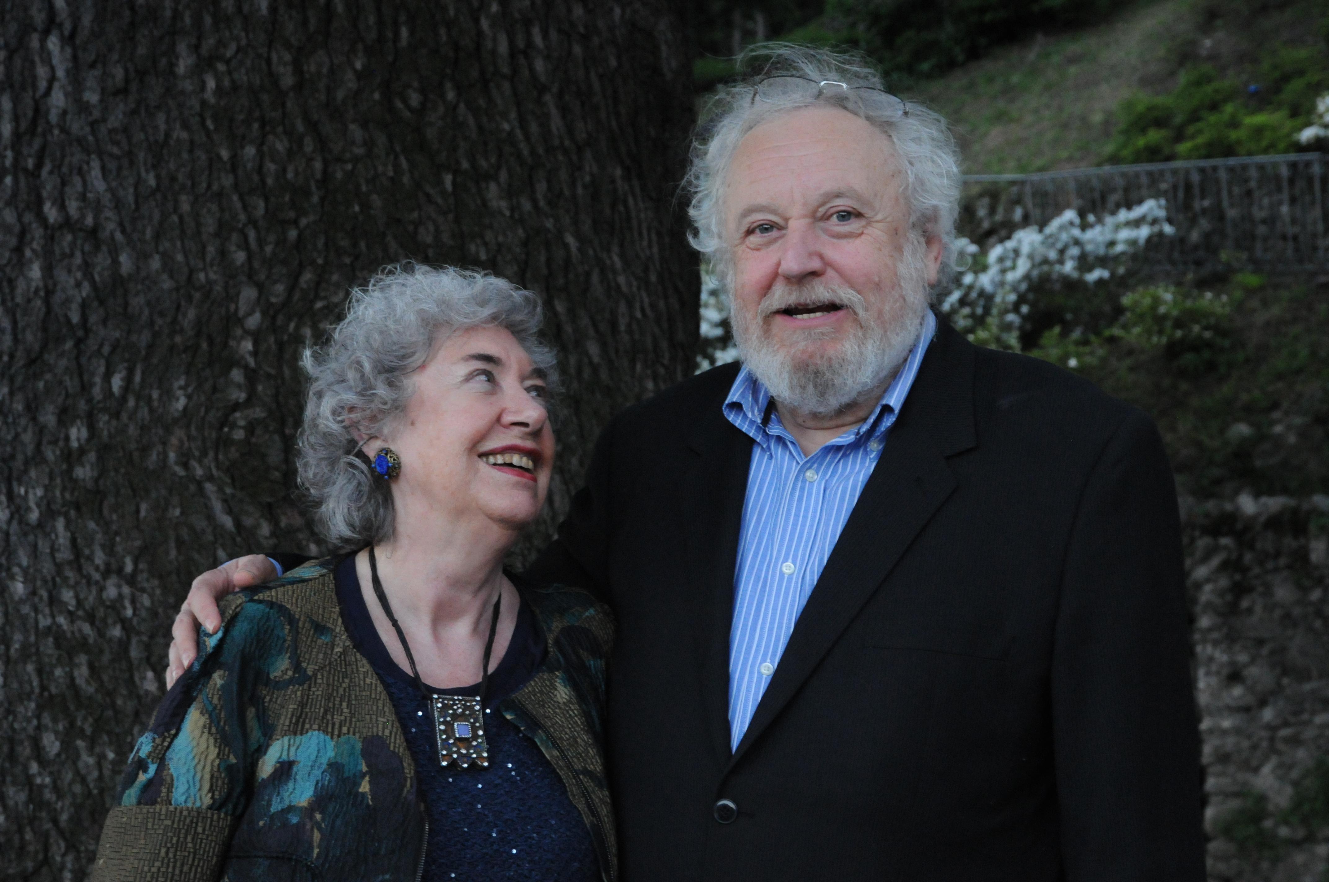 I poeti Guido Oldani e Donatella Bisutti