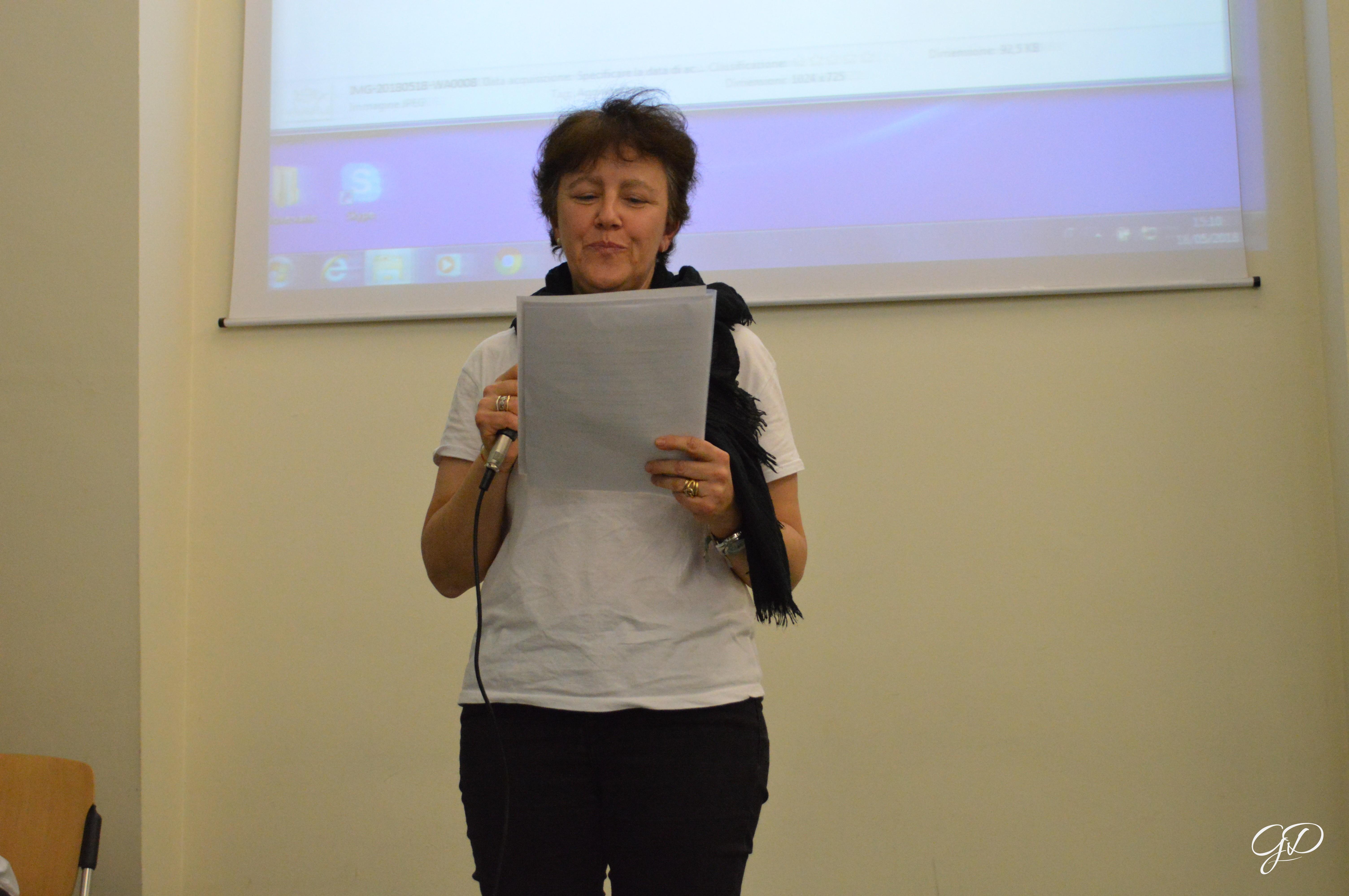 La professoressa Bianchi