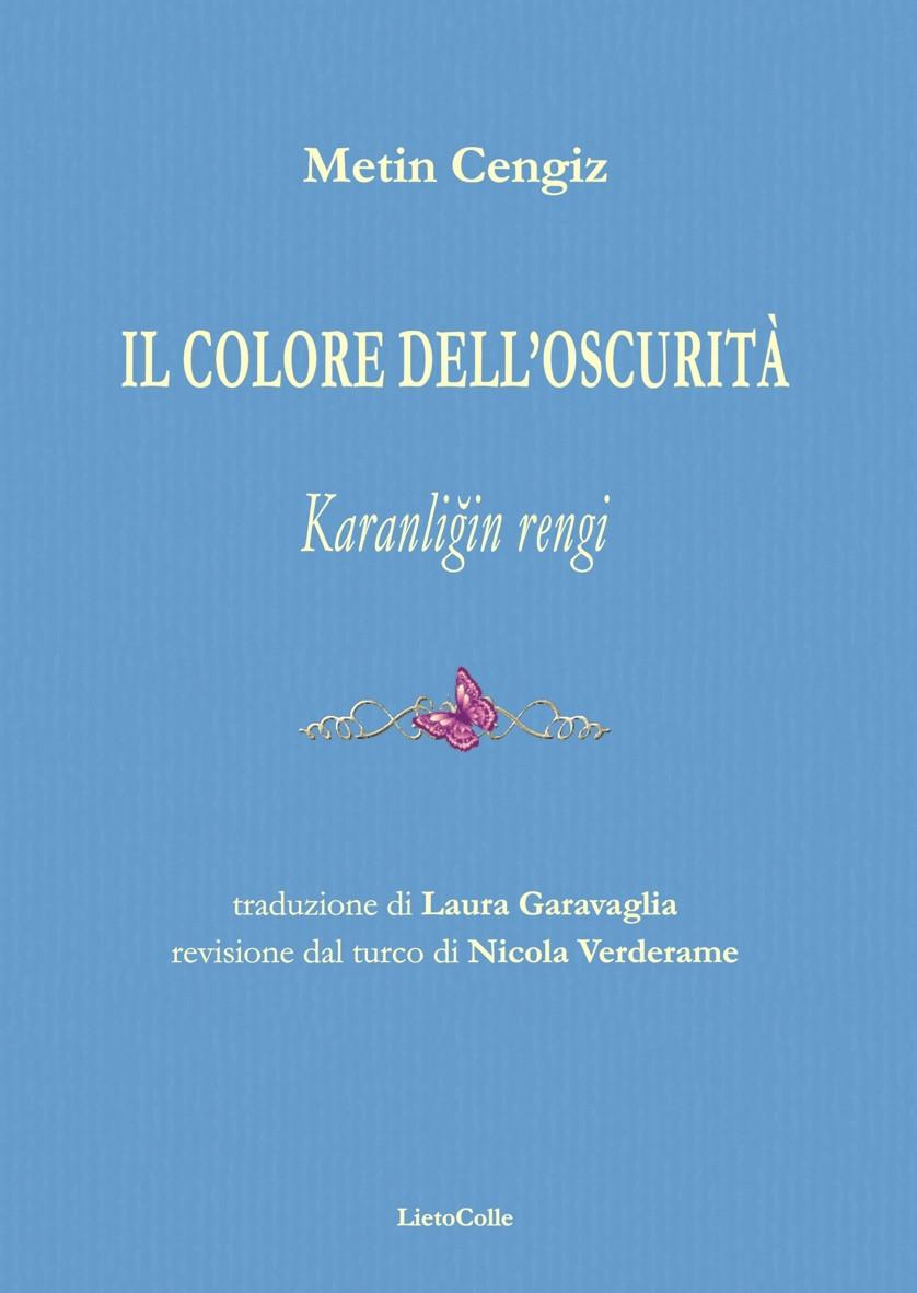 """Copertina """"Il colore dell'oscurità"""""""