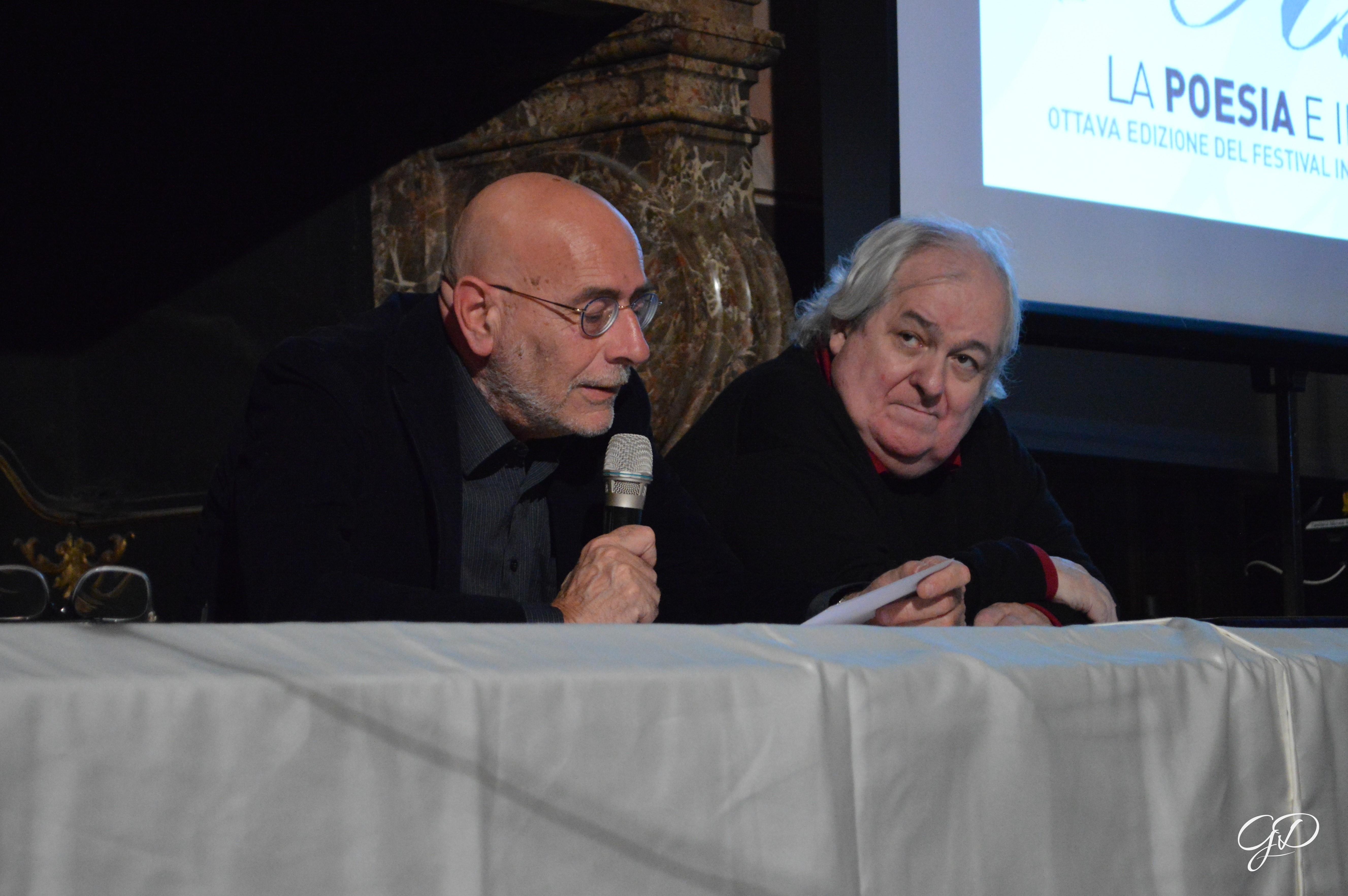 Milo De Angelis e Mario Santagostini