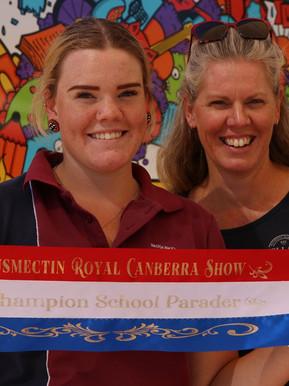Champion School Parader, Canberra Show 2021