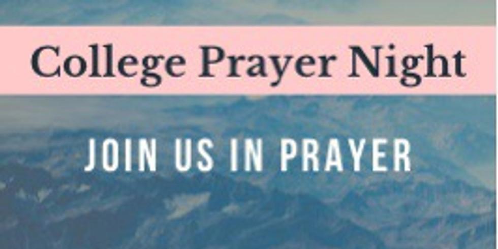 College Prayer Night