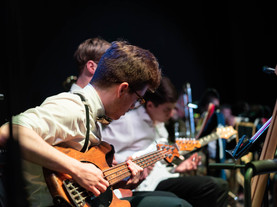 Past Student Excels in Music