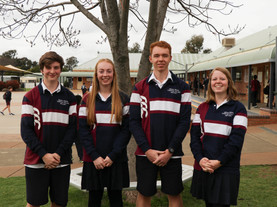 Welcome the 2021 College Captains
