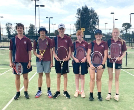 Interschool Tennis Competition
