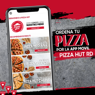 Ordena tu Pizza Hut en línea.