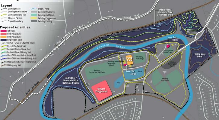 West City Park Concept Plan