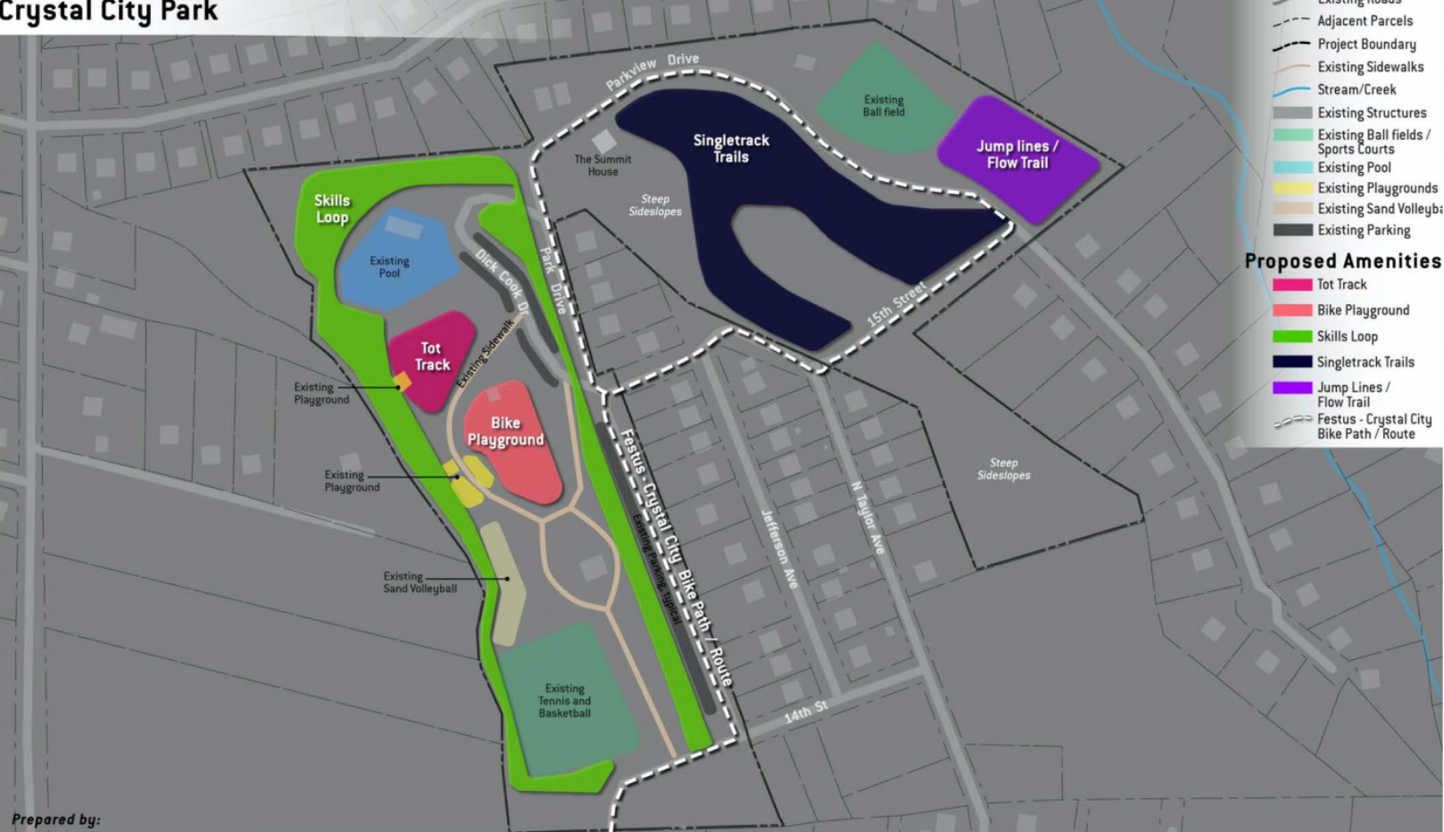 Crystal City Park Concept Plan