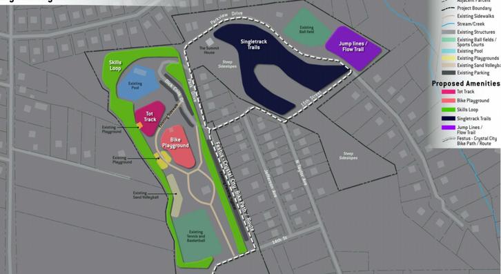 Crystal City Park Concept Plan