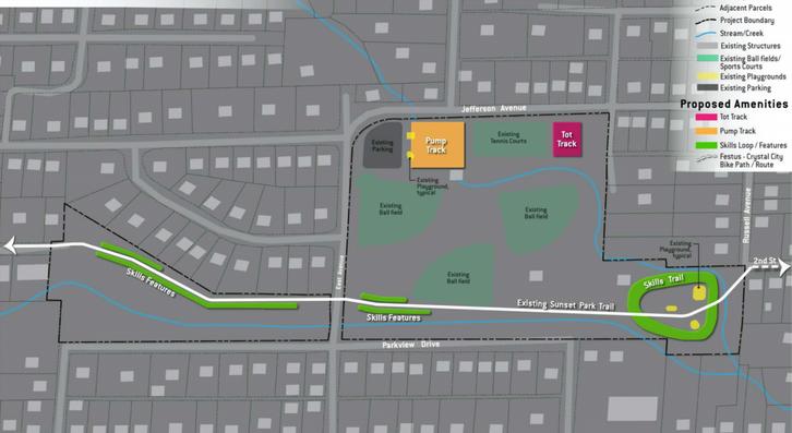 Sunset Park Concept Plan