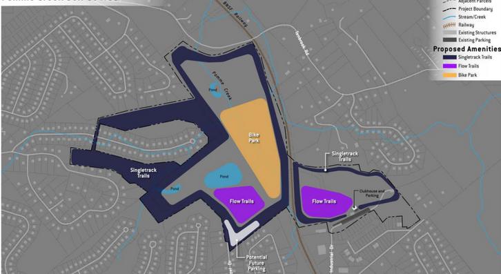 Pomme Creek Golf Course Concept Plan