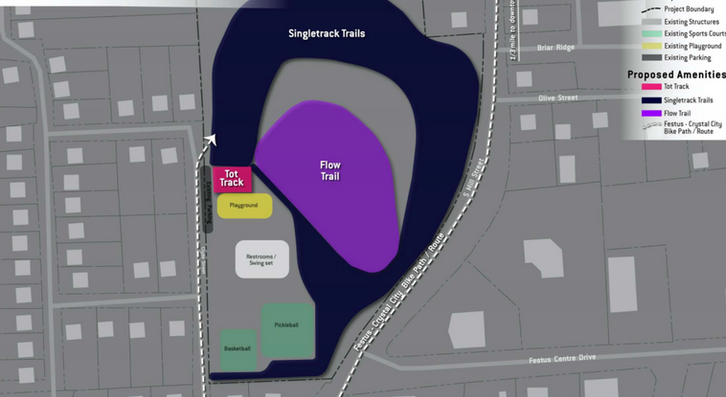 Jackson Memorial Park Concept Plan