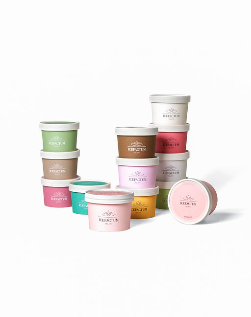 ICEFACTUM Ice Cream Cups