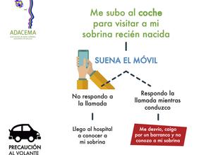 Campaña prevención vial - ADACEMA