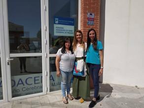 Fundación El Pimpi visita ADACEMA