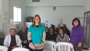 Visita de ADACEMA al Centro de Salud Alameda Perchel